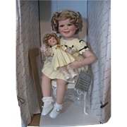 SOLD Shirley Temple Doll - Shirley & Her Doll - 2 Dolls - Curly Top Movie -