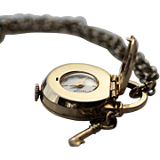 Taylor Watch Pendant, Swiss-made with Lock and Key Design