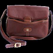 SALE Gucci Leather Dressage Shoulder Bag Purse 1970s