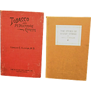 SALE THREE EARLY BOOKS ON SMOKING