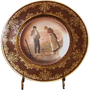 ROYAL VIENNA STYLE PLATE