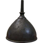 LARGE PEWTER FUNNEL