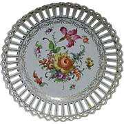 DRESDEN RETICULATED BOWL