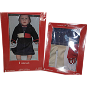 FAO Schwarz Exclusive,  M.A. Tommy Hilfiger Doll and extra Outfit