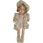 SALE Patsy Type Doll In Winter Coat