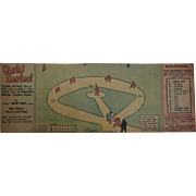 SOLD 1932 Roy Crane Sunday Comics Baseball Game