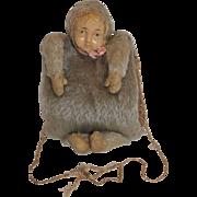 SALE 1911 Ideal Baby Mine Mohair Doll Muff