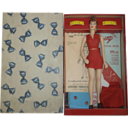 "SALE 1940's Latexture ""Miniature Fashions"" Manikin - MIB - Simplicity Patterns"