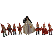 SALE Baps Snow White and the Seven Dwarfs