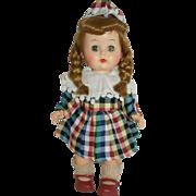 """1950's 10"""" Walking Doll - Hard Plastic"""