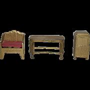 SALE Tootsietoy Furniture Set