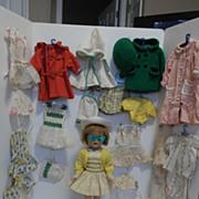 SALE 1950's Mariquita Perez Doll & Tagged Trousseau