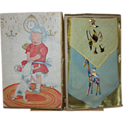 Children's Hankie Box and Hankies