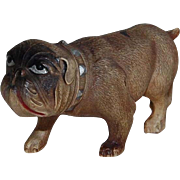 SOLD Celluloid Toy Bull Dog Figure