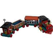 Fisher Price Huffy Puffy Pull Train Toy