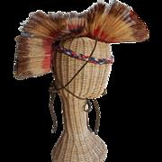 Vintage Boy Scout Roach Native American Headdress