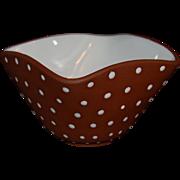 SALE Graveren Norsk Norway Art Pottery Bowl
