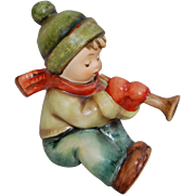 Goebel Hummel Figurine Sound The Trumpet Boy