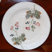 REDUCED Wedgwood Majolica Argenta Blackberry Plate
