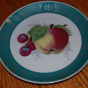 5 Rosenthal German Hand Painted Fruit Plates