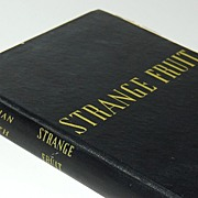 SALE 1947 Strange Fruit ~ Hardcover Book