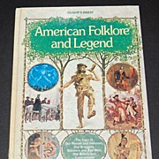 SALE 1978 American Folklore and Legend ~ Hardcover Book