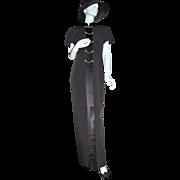 SALE Evan-Picone ~ Long Asian-Inspired Rhinestone Dress