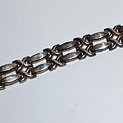 SALE 19.5G Sterling Silver 925 X-Kiss Link Bracelet