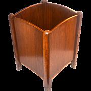 SALE Arnold's ~ Wood Planter w/ Brass Feet ~ Ontario