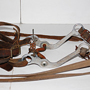 SALE Horse Bridle w/ Leather Straps Rustic Wall Decoration