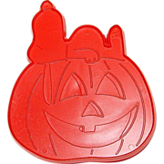 SALE 1974 Hallmark ~ Snoopy & The Great Halloween Pumpkin Cookie Cutter