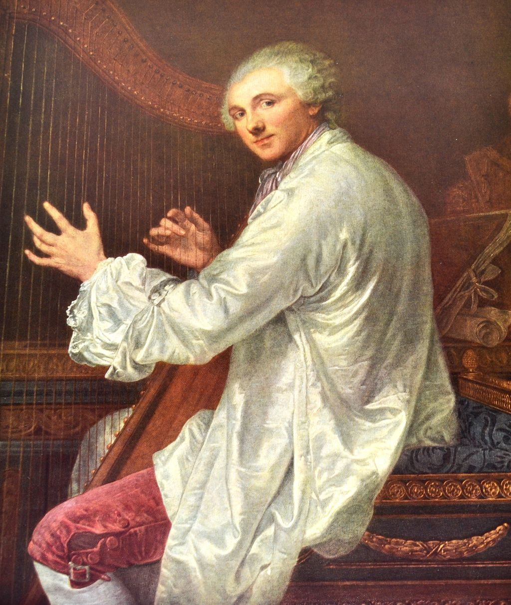 Jean Baptiste Greuze Monsieur De La Live De Jully Reproduction Art From Blackwidowvintiques On