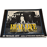 SALE 1976 Real Life ~ Louisville in the Twenties ~ Art Photography Book