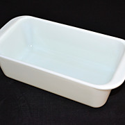 SALE Pyrex ~ White Milk Glass Bread Loaf/Baking Pan