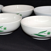 SALE Homer Laughlin/Mayer China ~ Set of 6 Dessert/Cereal/Soup Bowls