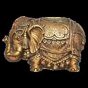 SALE 1967 Universal Statuary ~ Circus Elephant Bank