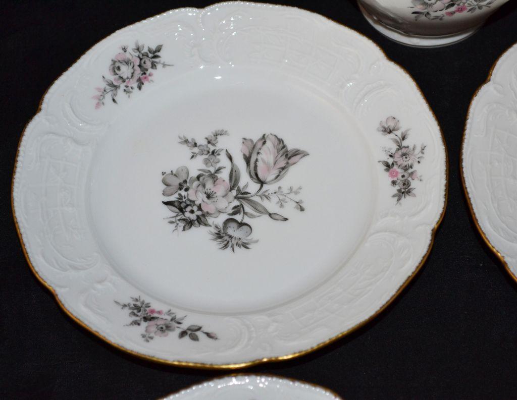 Rosenthal Sanssouci ~ Grey Rose ~ 5-Pc China Set from ...