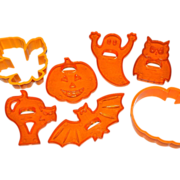 SALE Amscan ~ Set of 7 Halloween Cookie Cutters