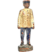 SALE 1930s Elastolin Germany African-American Toy Soldier