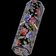 SALE Revlon Lustrous Lipstick in Black Hexagonal Rose Case