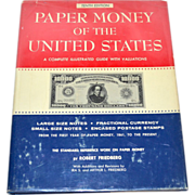 SALE 1978 Paper Money of the United States Tenth Edition Hardcover Reference Book w/ Dust Jack