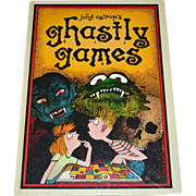 SALE Ghastly Games by John Astrop 12 Sinister Games Oversized Hardcover Book