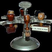 SALE Metal Spinning Standard 6 Slot Rubber Stamper Carousel
