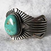 SALE Vintage Native American Bracelet-GREAT STONE!