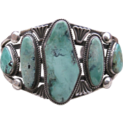 SALE NAVAJO CUFF-PIXIE TURQUOISE   FREE SHIPPING!