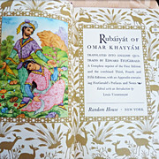 Rubaiyat of Omar Khayyam Book