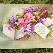 Dear Mother Floral Litho