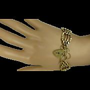 SALE PENDING 4 Bar Gate Gold Bracelet ….@ this Price?