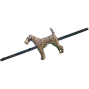Beddlington Terrier Dog Brooch