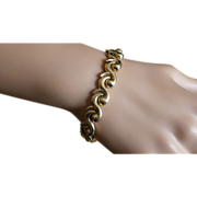 """REDUCED """"Wave"""" Style hallmarked Bracelet"""